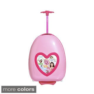 Lil Selfie Club Kids Personalized Carry-on Upright Suitcase