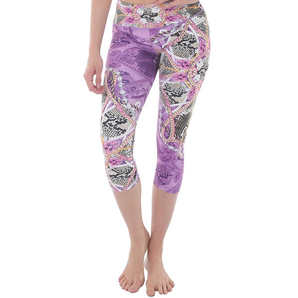 Luna Jai Women's 'Snake Surf' Athletic Capris