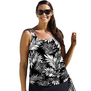 Beach Belle Women's Havana Daydreaming Blouson Tankini Top