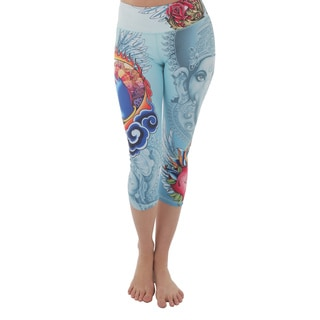 Luna Jai Women's 'Ganesha' Athletic Capris