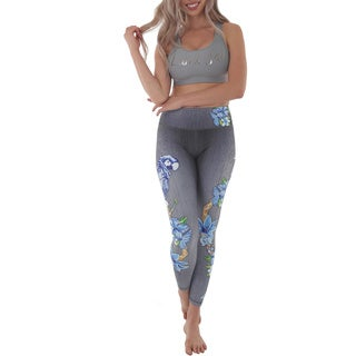 Luna Jai Women's 'Parrot' Active Athletic Pants