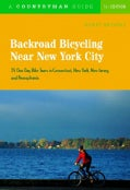 Backroad Bicycling Near New York City: 25 One Day Bike Tours in Connecticut, New York, New Jersey, and Pennsylvania (Paperback)