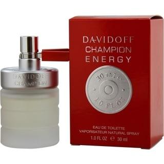 Davidoff Champion Energy Men's 1-ounce Eau de Toilette Spray