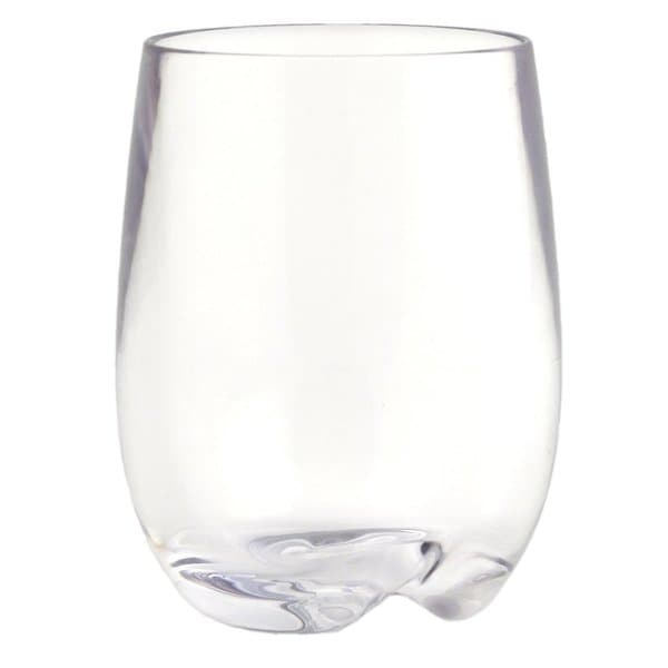 Strahl Elegant Strength Stemless Osteria Wine Glasses (Set of 4)