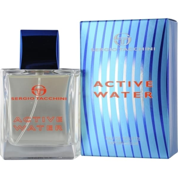 Sergio Tacchini Active Water Men's 1.7-ounce Eau de Toilette Spray