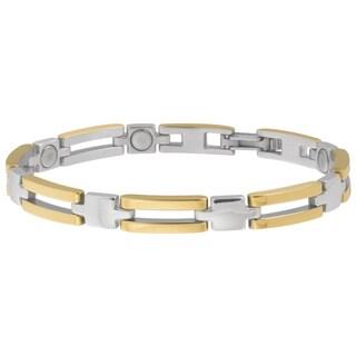 Sabona Lady Executive Slim Bar Duet Magnetic Bracelet