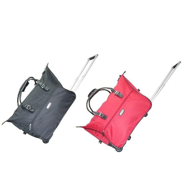 NY Cargo Fashion 21-inch Rolling Duffel