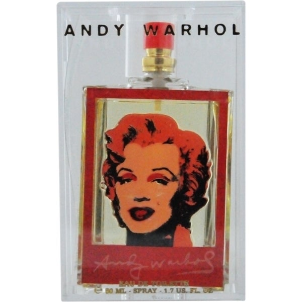 Andy Warhol Marilyn Red Women's 1.7-ounce Eau de Toilette Spray (Limited Edition)