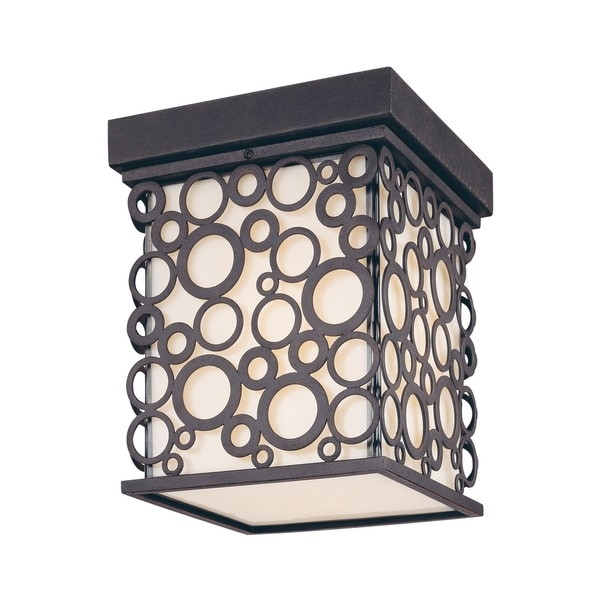 Troy Lighting Aqua 1-light Flush Lantern