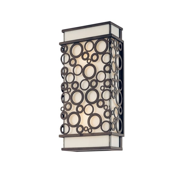 Troy Lighting Aqua 2-light Small Wall Lantern