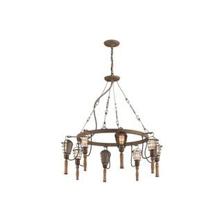 Troy Lighting Yardhouse 8-light Pendant
