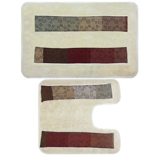 Avant-Garde Bath and Contour Rug Set or Separates