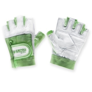 Womens Grizzly Paw Gloves Green