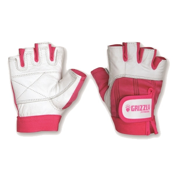 Grizzly Pink Ribbon Awareness Training Gloves