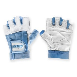 Womens Grizzly Paw Gloves Blue