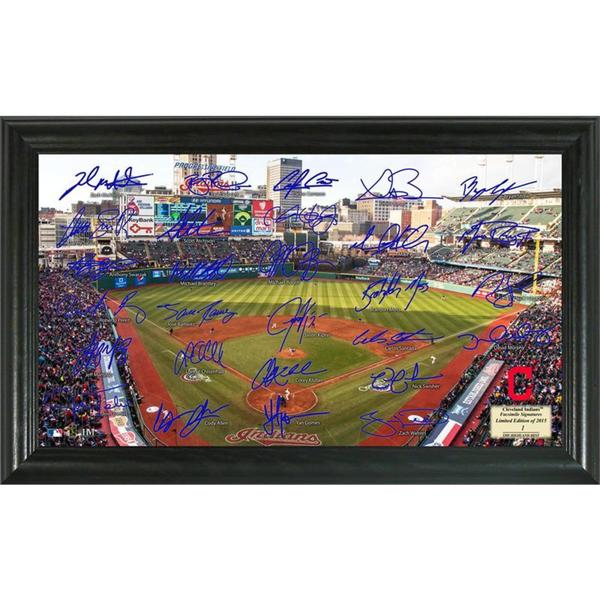 Cleveland Indians Signature Field