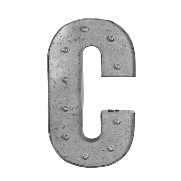 C Metal Letter board