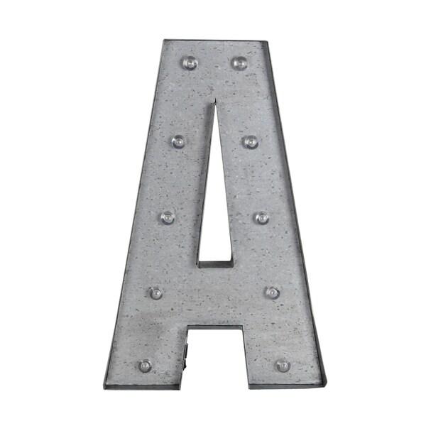 A Metal Letter board