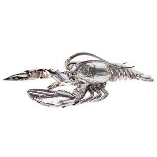 Silvertone 12-inch Lobster Figurine