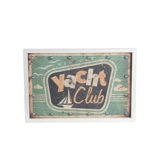 'Beach Club' Vintage Wall Art