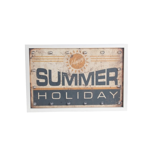 Summer Holiday Retro Wall Art