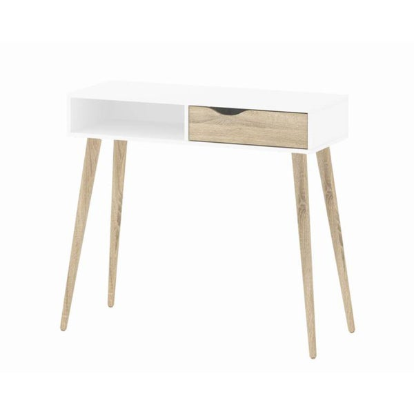 Diana White Oak Desk