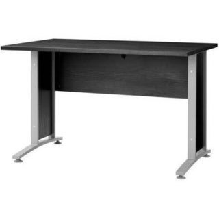 Pierce Black Wood Grain Desk