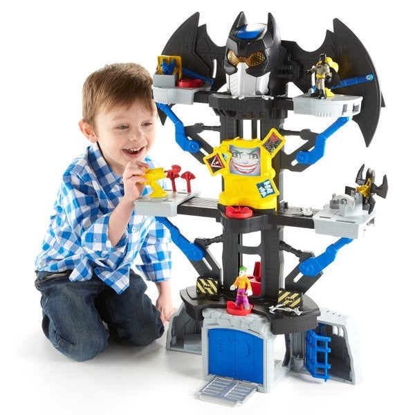 Fisher-Price Imaginext DC Super Friends Transforming Batcave 15407745