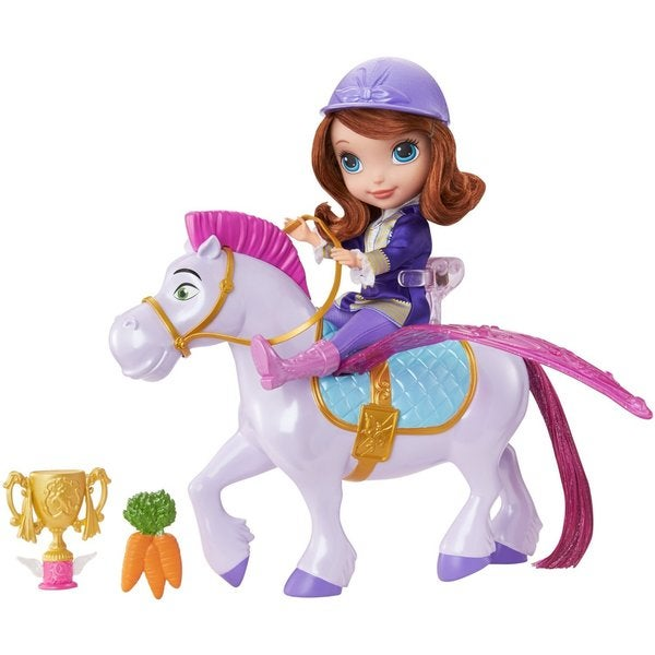 Disney Sofia the First Flying Magic Princess Sofia and Minimus