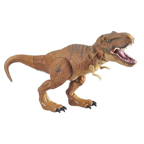 Hasbro Jurassic World Stomp and Strike Tyrannosaurus Rex Dinosaur