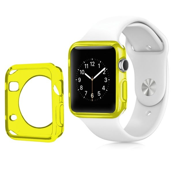 Insten TPU Rubber Candy Smart Watch Bumper Frame Case for 38mm Apple Watch
