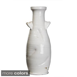 Ceramic Vase Pottery with Lug Handles