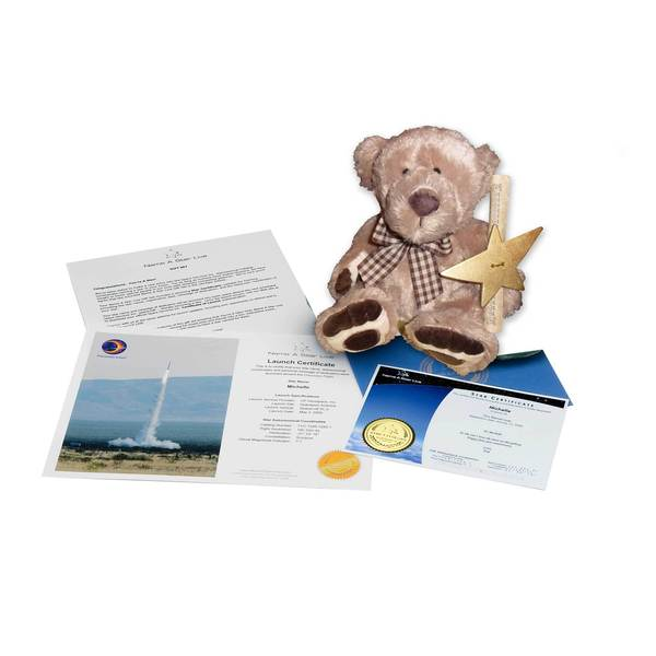 Star Legacy's Name A Star Live - Teddy Bear Gift Set
