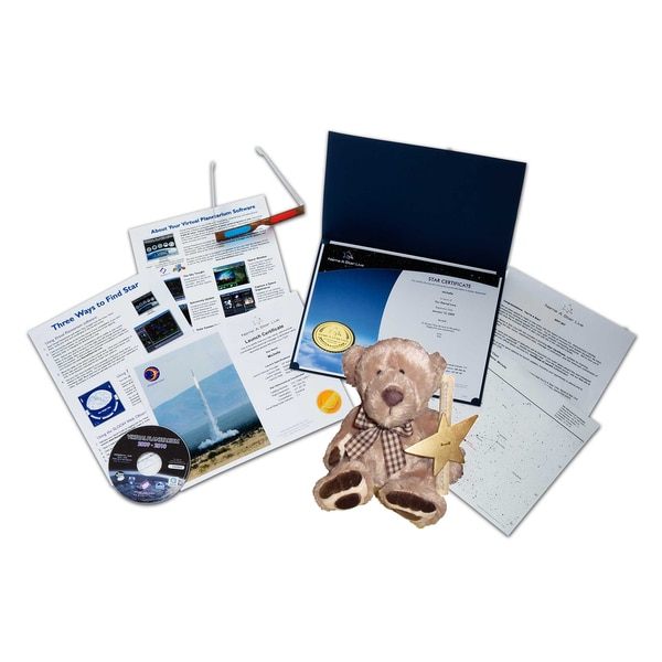 Star Legacy's Name A Star - Bear Gift Set with Virtual Planetarium