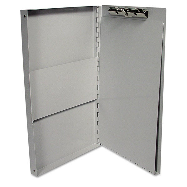 Universal One Silver Aluminum Document Box