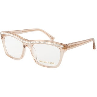 Michael Kors MK876 215 Crystal Champagne Optical Eyeglasses (Size 52)