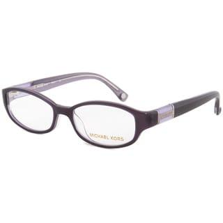 Michael Kors MK841 501 Purple Optical Eyeglasses (Size 49)