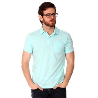 Filthy Etiquette Men's Basic Blue Polo Shirt