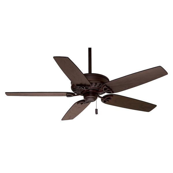 Casablanca 54-inch Concentra Brushed Cocoa Reversible Blade Ceiling Fan 15408846