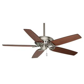 Casablanca 54-inch Concentra Brushed Nickel 5-blade Ceilling Fan