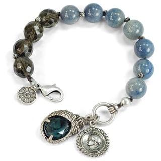 Sweet Romance Gemstone Treasure Bracelet