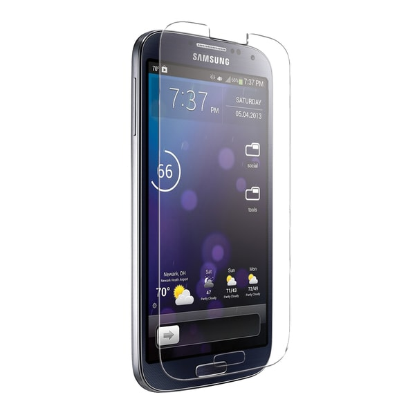 iEssentials IE-SG4-SCTG S4 Samsung Galaxy Tempered Glass Screen Protector 15409052