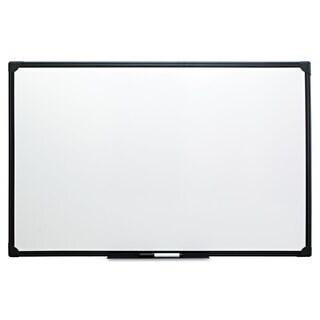 Universal One Black Frame Dry Erase Board