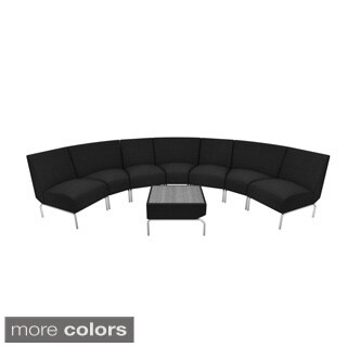 OFM Triumph Curve Lounge Package with Table
