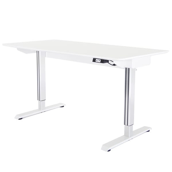 Tct Nanotec Electronic Height Adjustable Desk Overstock