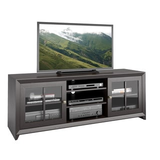 CorLiving TEH-504-B Carlisle Coffee Black TV Bench
