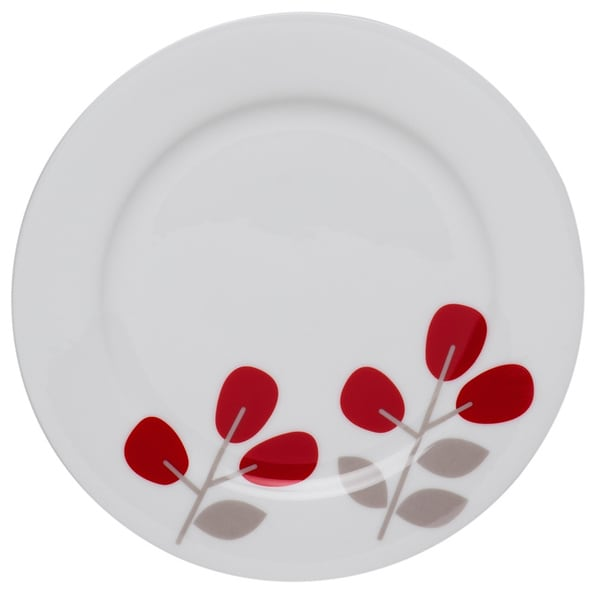 Winterberry Red 7-inch Side Plate (Set of 4)