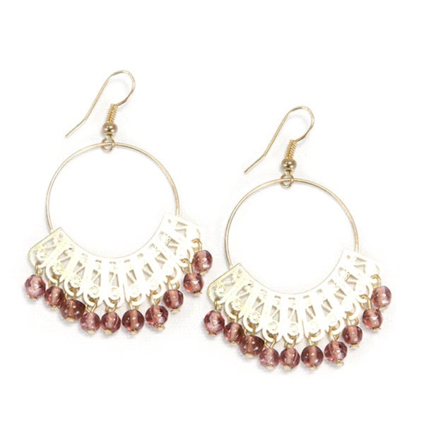 Maharani Golden Earrings (India)