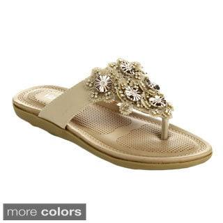 Via Pinky Women's Faye-14 Open Toe Slide Sandals