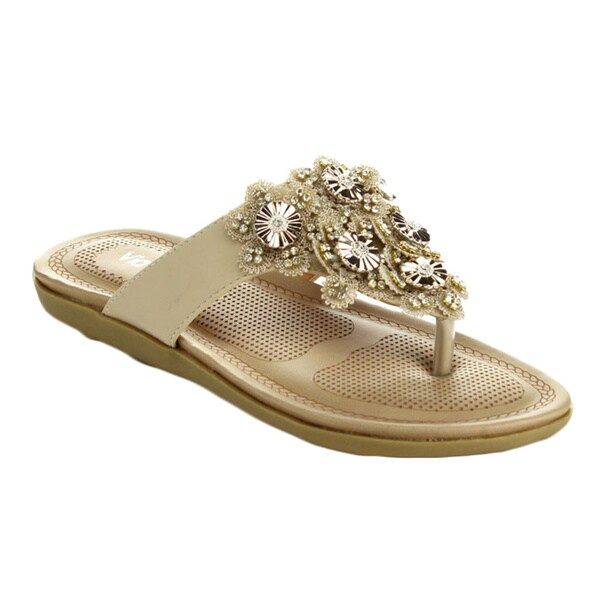 Via Pinky Women's Faye-14 Open Toe Slide Sandals